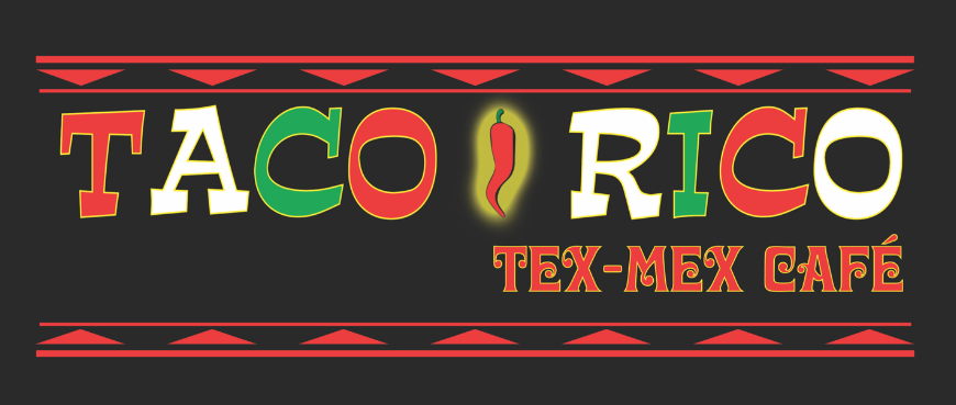 Taco Rico Logo Revised