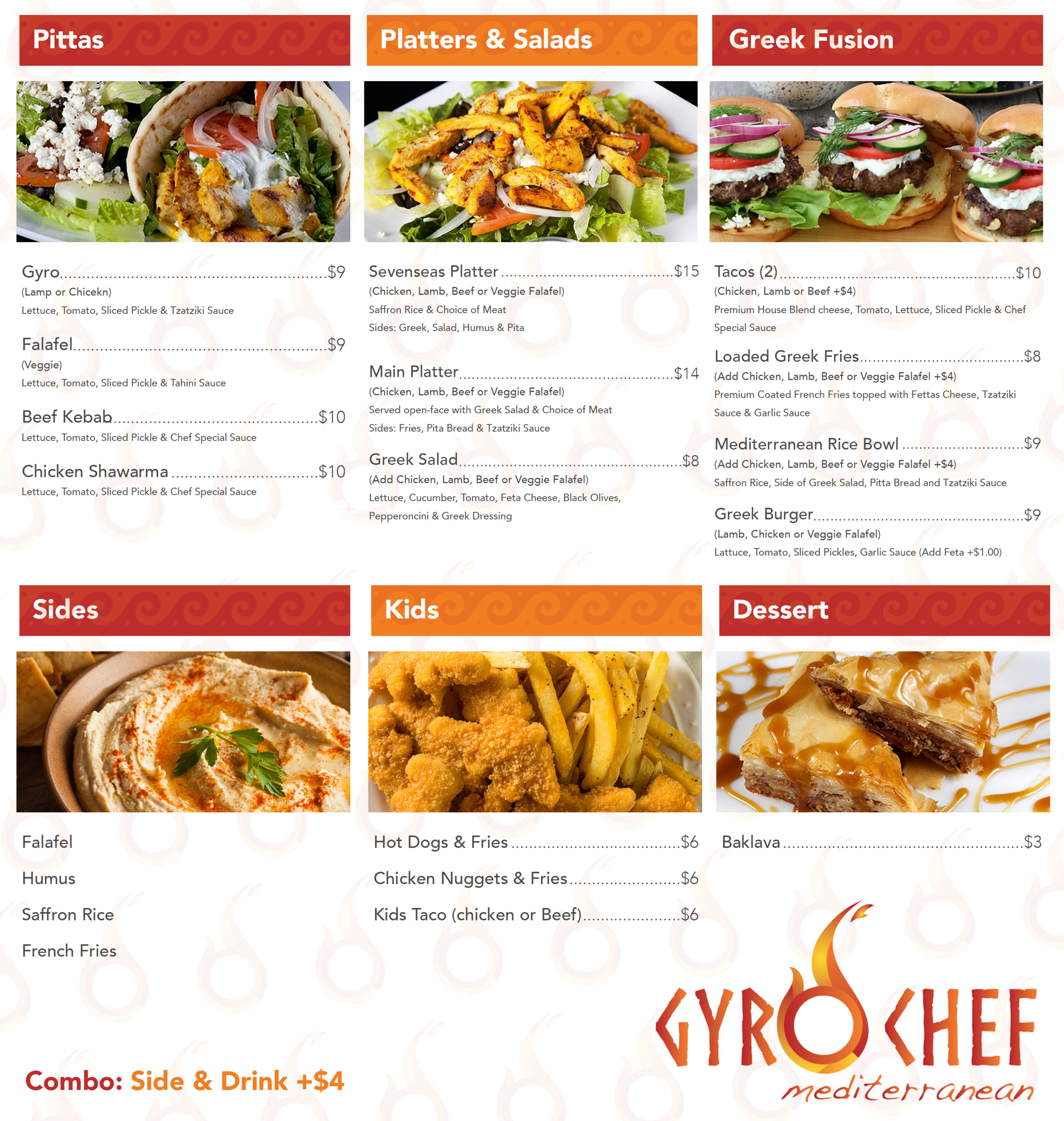 Gyro-Chef-Menu