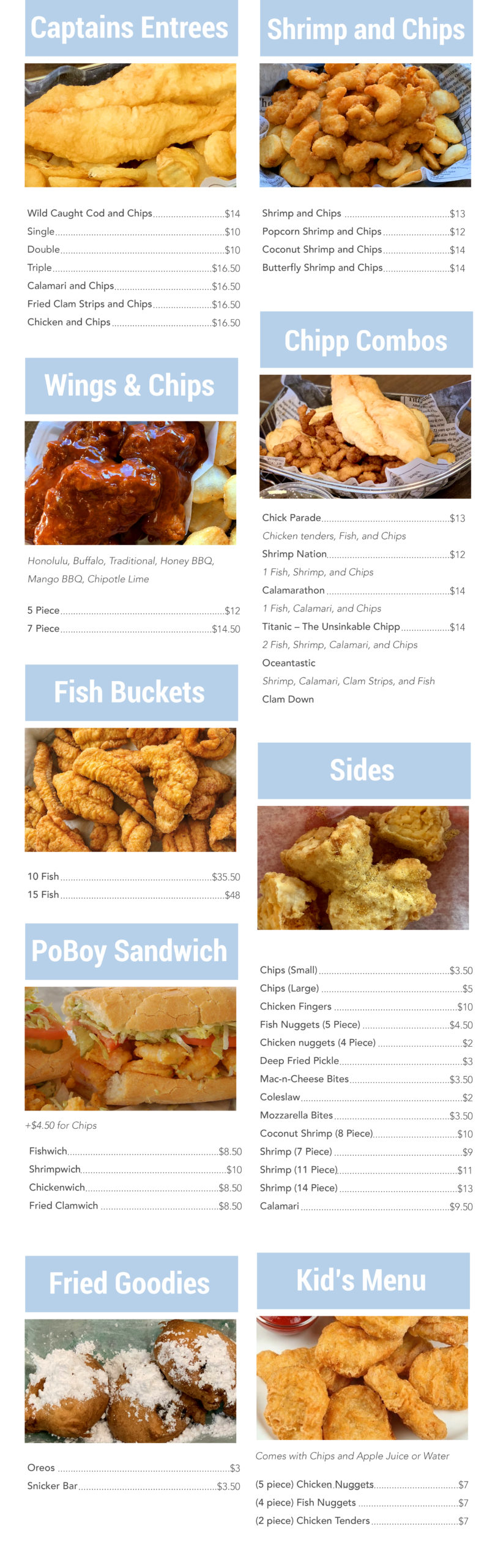Chipper Menu